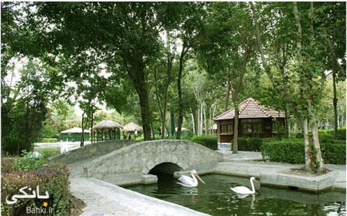 گزارش تصویری از باغ پرندگان شهر اصفهان